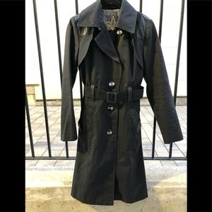 Mackage Black Trench - size large